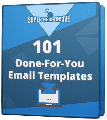 101-dfy email templates binder